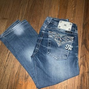 Miss me signature rise cropped size 30